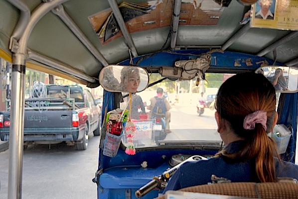 Reisetips om tuk tuk i Chiang Mai