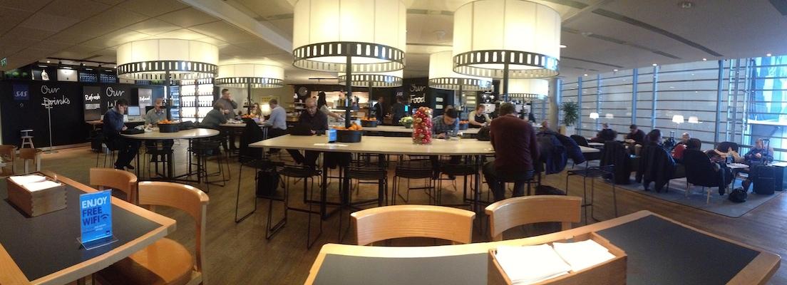 reisetips fly business class lounge gardermoen
