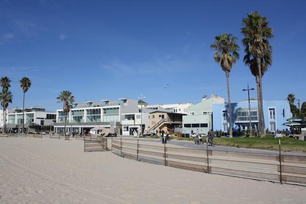 Reisetips fra Los Angeles: sykkelsti på venice beach