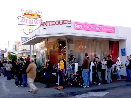 Reisetips fra Los Angeles: Pink's hot dog