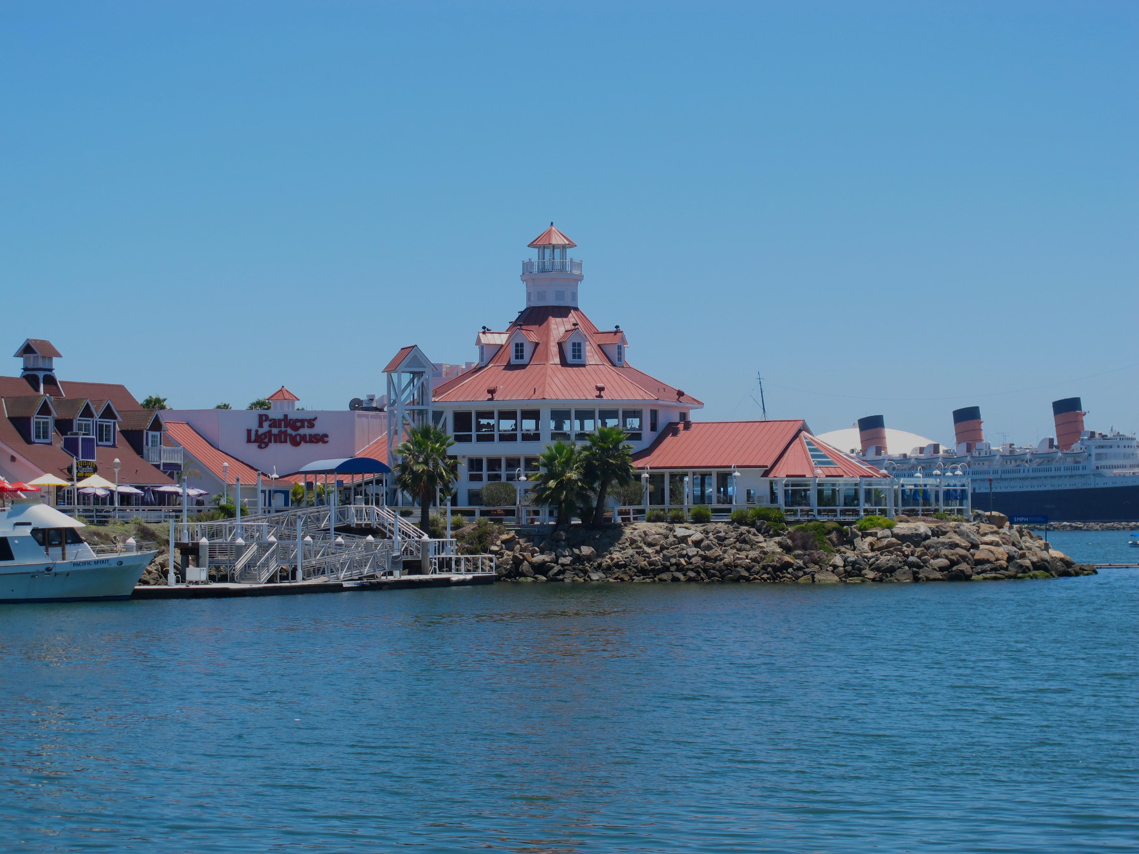 Ved restauranten Parkers Lighthouse får du en av byens beste utsikter mens du spiser ...