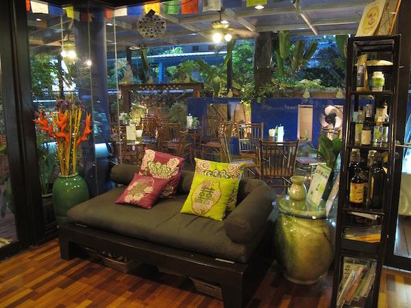 Racine Retreat er virkelig en grønn oase av en helseperle i Bangkok.