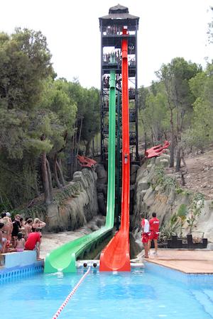 Vertigo lar deg skli 33 meter nesten rett ned, i en fart på opptil 80 km/t!
