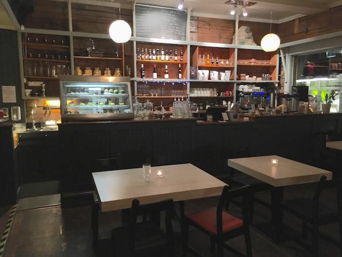 Kafe Globus har en spennende, internasjonal meny.