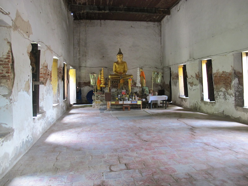 ... og et svært, svært gammelt tempel!