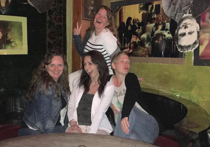 Fire glade reisebloggere på Spatif i Sopot!