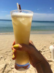 Drink på Otres Beach, Sihanoukville.