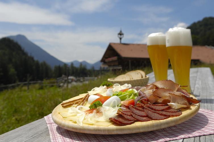 Ah, dette er det jeg forbinder med en herlig feriedag ved de tyske Alpene!