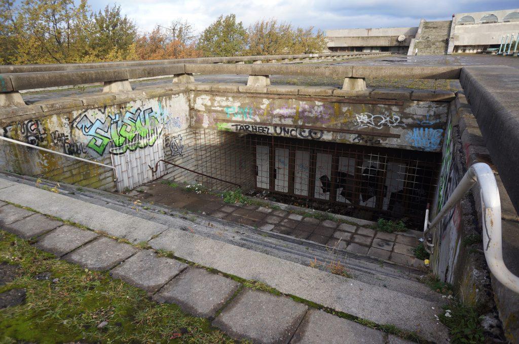 Ruinene av det gamle konserthuset Linnitall.